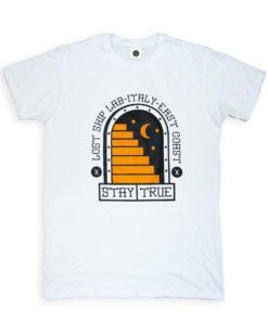 T-Shirt stampata a mano in serigrafia / Handprinted t-shirt
