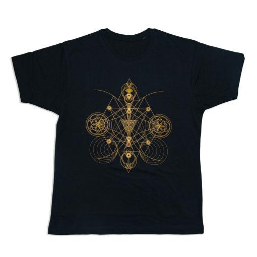 t-shirt-sacred-geometry-HANDMADE PRINT